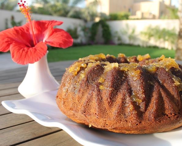 Food Lust People Love Pineapple Bundt With Kuih Tat