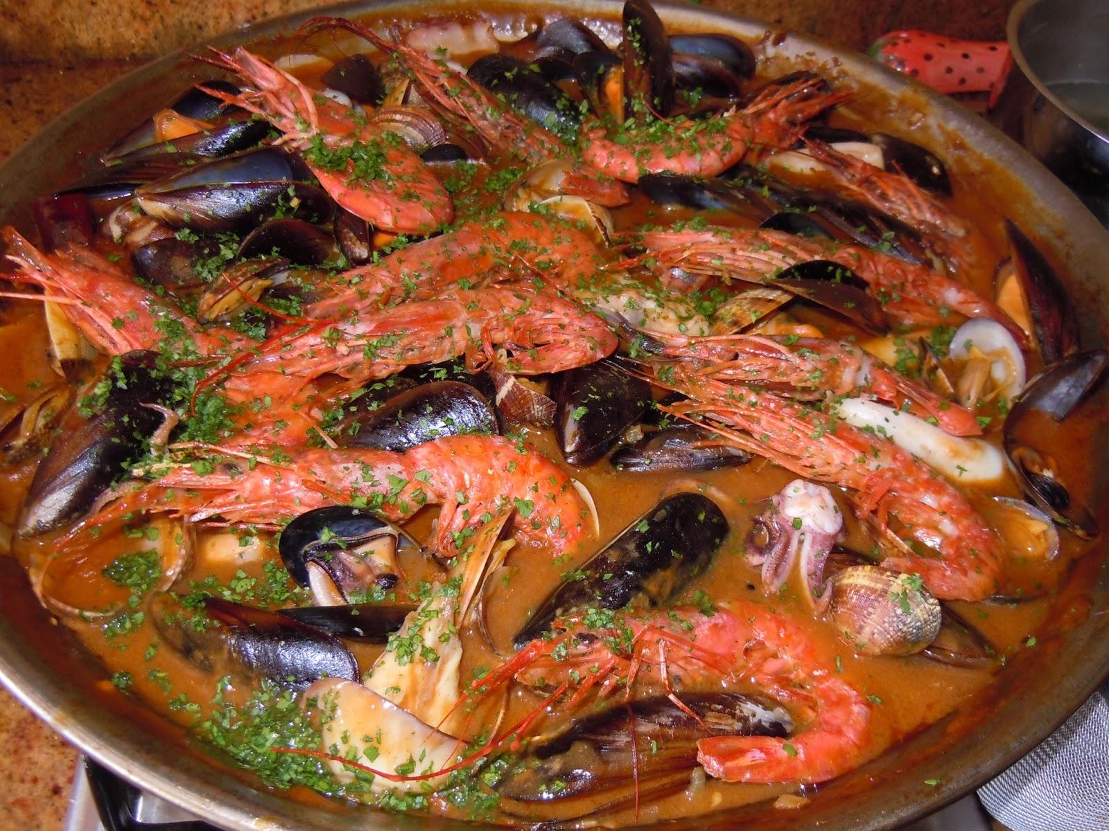 El blog de debora mis recetas del dia a dia zarzuela de for Cocinar zarzuela
