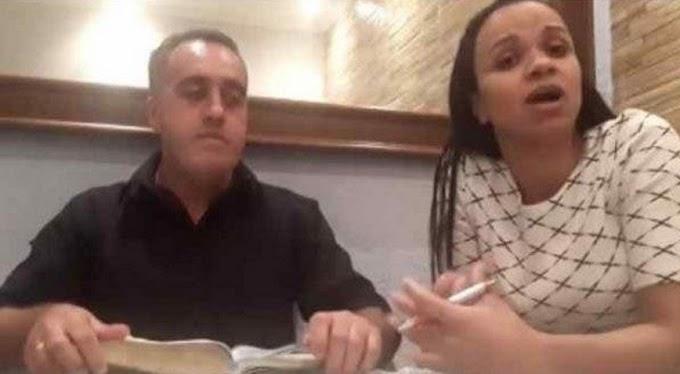 Pastor que xingou esposa antes de live pede desculpa