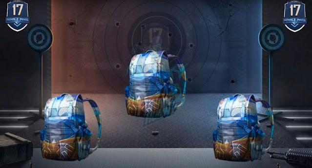 Blue Eagle backpack