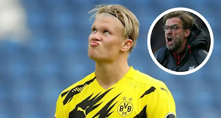 Agbonlahor urge Manchester United to sign Erling Haaland to challenge Liverpool for EPL title