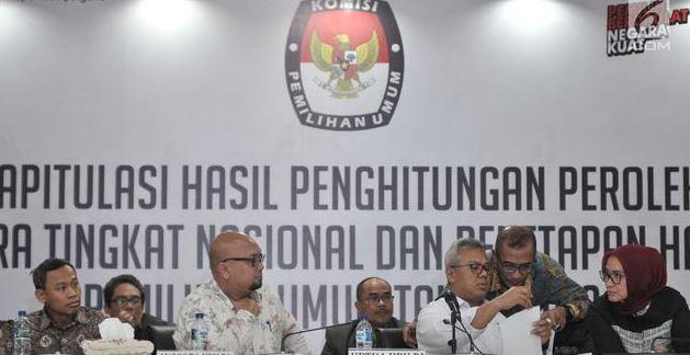 Jihar News, Ditengah Malam Buta, KPU Tetapkan Jokowi-Ma'ruf Pemenang Pilpres 2019