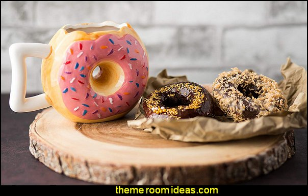 Ceramic Donut Mug  kitchen accessories - fun kitchen decor - decorative themed kitchen  - novelty mugs - kitchen wall decals - kitchen wall quotes - cool stuff to buy - kitchen cupboard contact paper -  kitchen storage ideas - unique kitchen gadgets - food pillows - kitchen accessories - fun kitchen decor - decorative themed kitchen  - novelty mugs - kitchen wall decals - kitchen wall quotes - cool stuff to buy - kitchen cupboard contact paper -  kitchen storage ideas - unique kitchen gadgets - food pillows