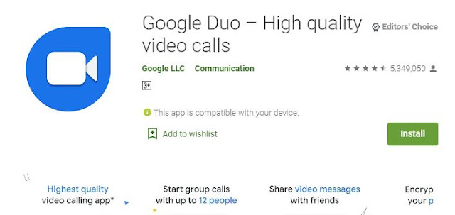 Google Duo will add many new features | google duo web | google duo app for android | google duo maximum video call