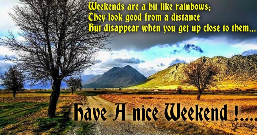 weekend messages for friends beautiful messages