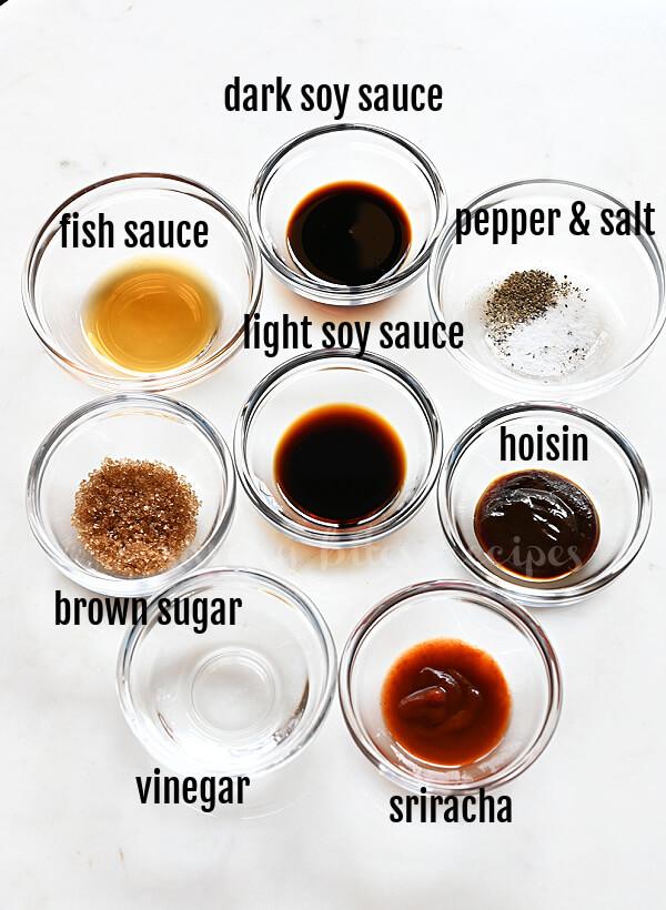ingredient to make sesame noodles recipe