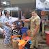 BPBD Kota Payakumbuh Serahkan Bantuan Untuk 2 Korban Kebakaran Di Parik Rantang