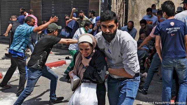 Israel hiere, de nuevo, esta vez a 100 civiles en marcha en apoyo a presos palestinos