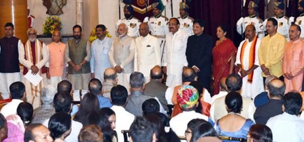 New Delhi, PM Modi, Narendra Modi, Modi Cabinet 2017, Modi Cabinet Reshuffle, Nirmla Sitharaman, Nitin Gadkari, Suresh Prabhu, Piyush Goyal, Gajendra Singh Shekhawat, Ministers of Modi Cabinet, Modi Cabinet Ministers List