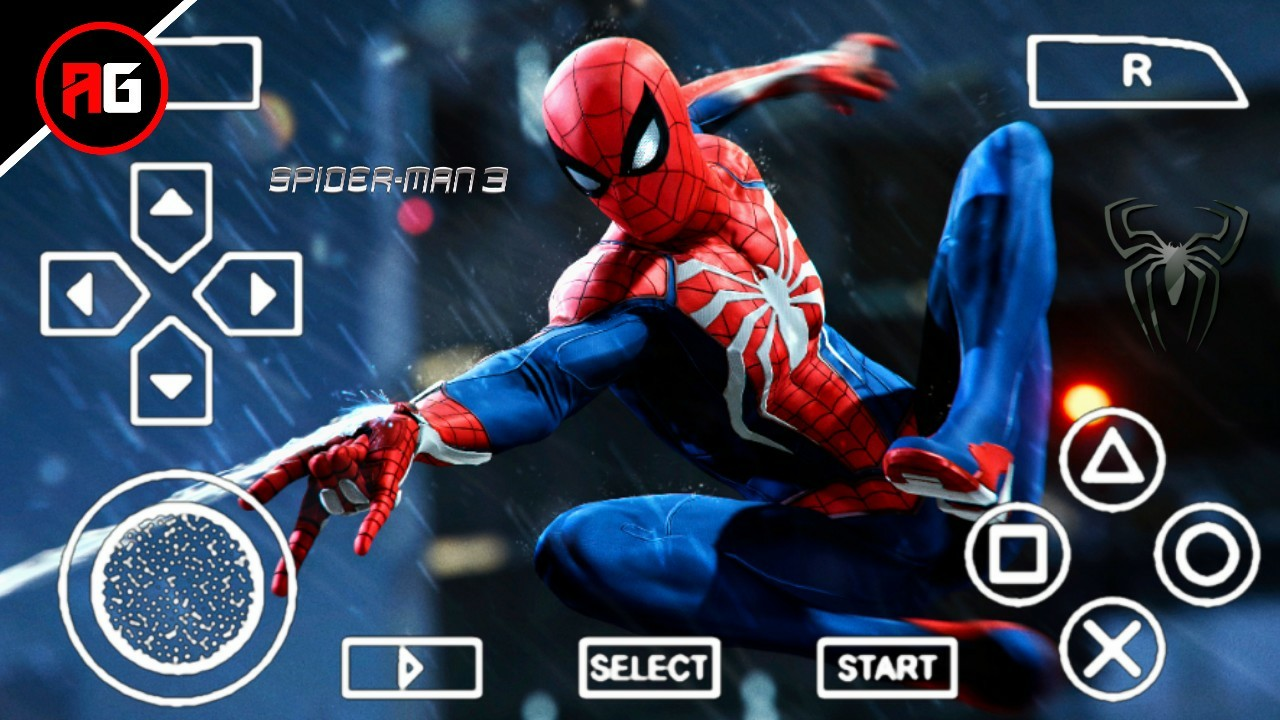 spider man 3 apk download ppsspp