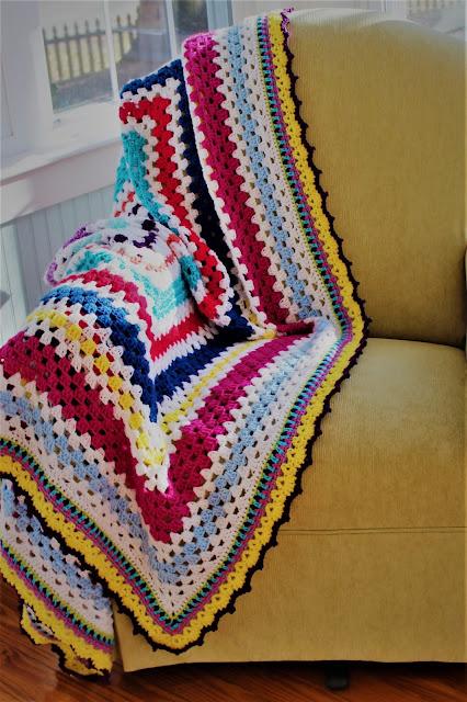 Multicolor Granny Scrapghan