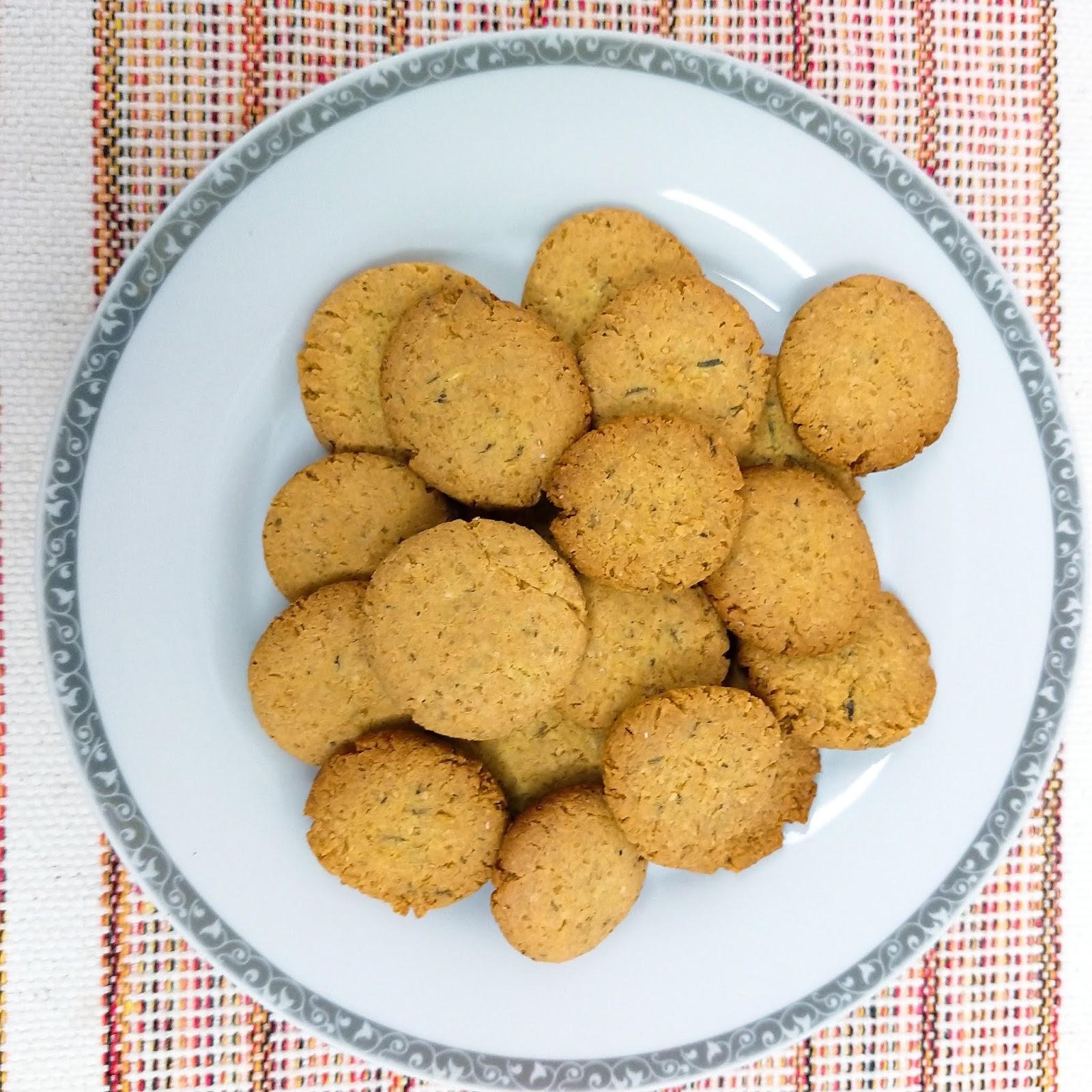 biscoito fit salgado