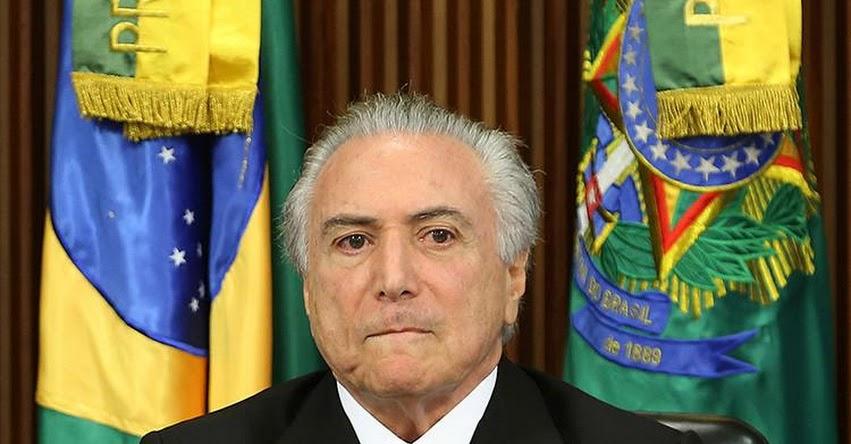TERREMOTO POLÍTICO EN BRASIL: Escándalo por corrupción sacude el gobierno de Temer