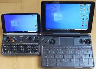 左:GPDWin2  右:GPDWinMax