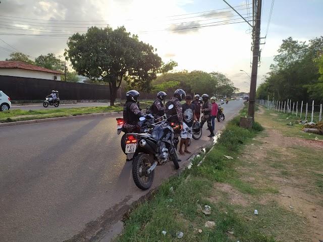Policiais do Choque intensificam ações no bairro São Raimundo e adjacências