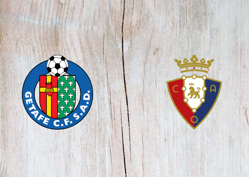 Getafe vs Osasuna -Highlights 19 September 2020