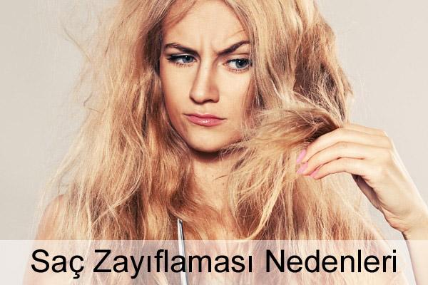 Saç Zayıflaması Nedenleri