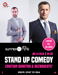Stand-Up Comedy Galati Joi 14 Iulie
