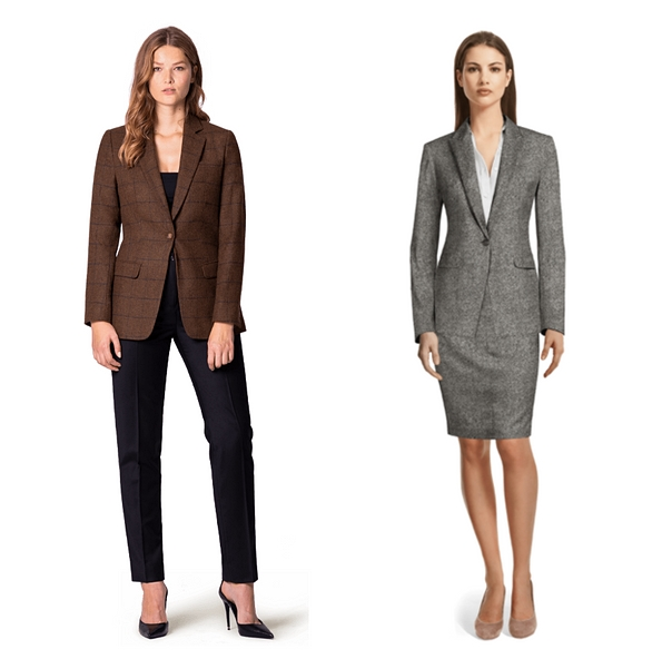 Women Wear to an Interview, women tweed suit, women workwear, fashion, interview, women interview attire