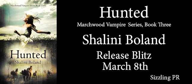 Hunted by Shalini Boland !
