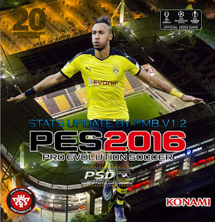PES 2016 Update Sats V1.2 untuk PTE Patch