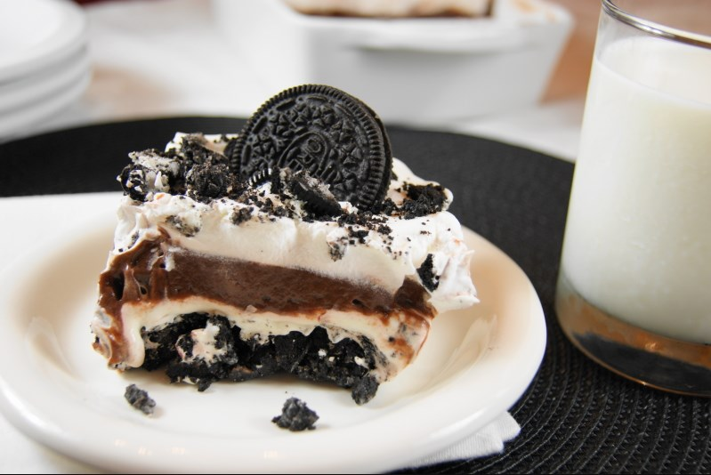 Classic Oreo Icebox Dessert #summer #sweettreat