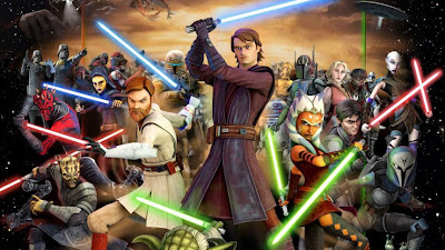 Star Wars: The Clone Wars (2008) [avi] [6 Temporadas] [MEGA] [220-650 megas] [castellano]