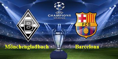 prediksi skor bola Borussia Monchengladbach vs Barcelona 29 September 2016
