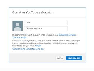 ADSENSE? Ini Dia Cara Membuat Channel Youtube Untuk GA