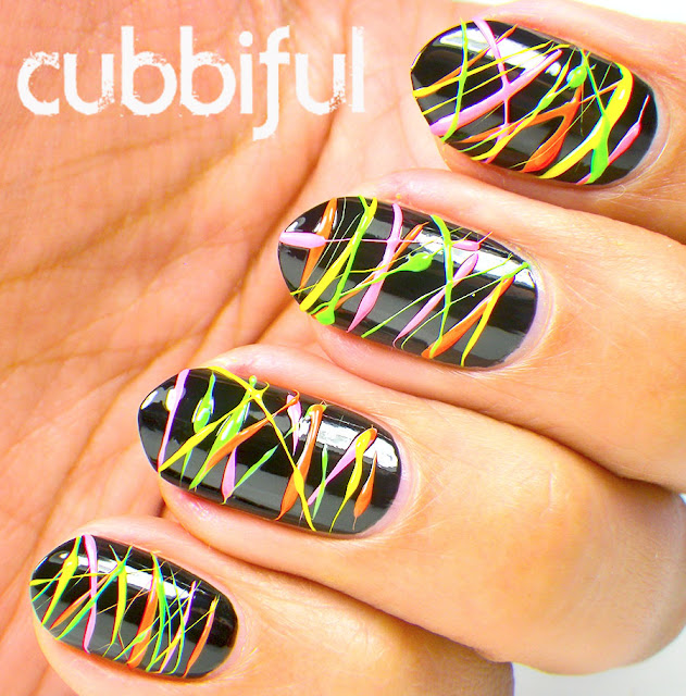 Laser Lights Nail Art