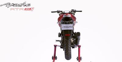 TVS Apache RTR 200 4V Naked bike rear image