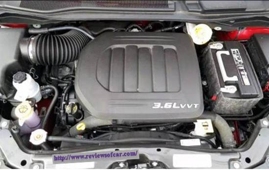 2017 Dodge Grand Caravan Redesign- Engine