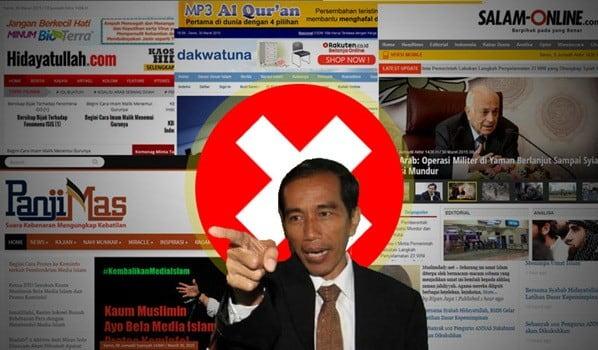 Forjim: Blokir Media Islam, Rezim Jokowi Represif dan Diktator