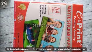 harga kertas stiker glossy a4 | +62 852-2765-5050