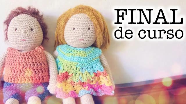 Mini Curso: Cómo hacer una muñeca a crochet