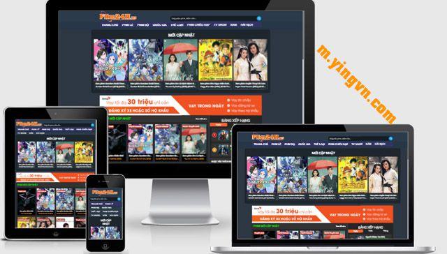 Template Phim Blogspot chuẩn SEO Responsive mới nhất 2021 - 2