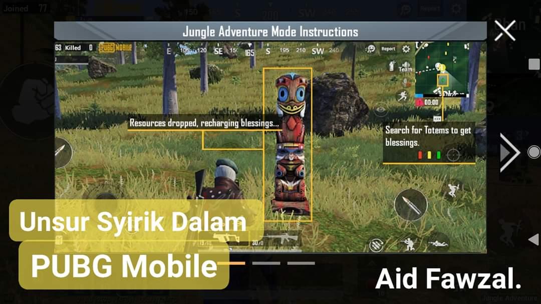 unsur syirik dalam pubg mobile update terbaru