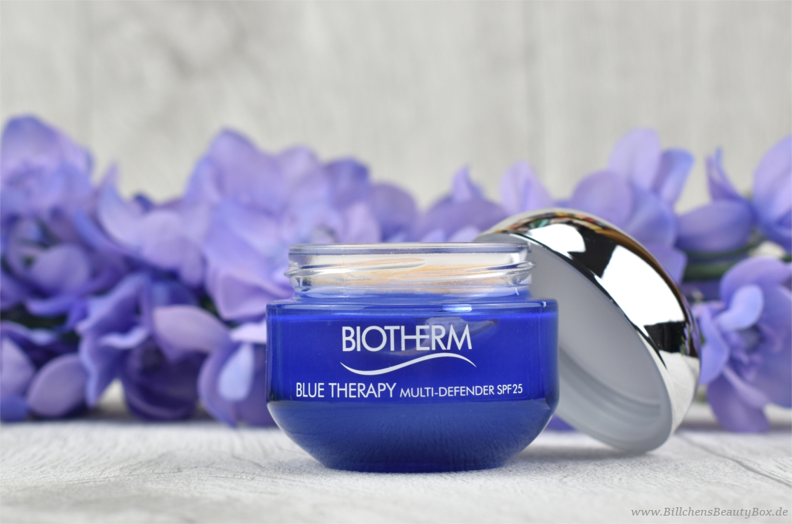 Biotherm - Blue Therapy Multi-Defender SPF 25 - Review und Erfahrung