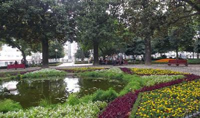 Jardim de São Lázaro no Porto