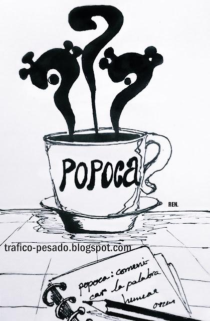 ilustración café