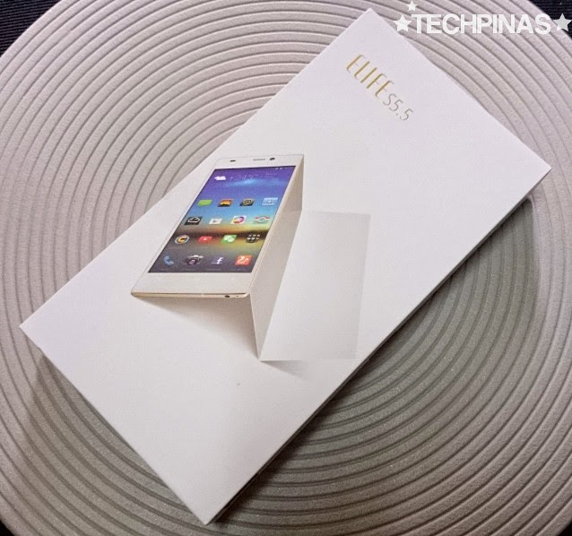 Gionee Elife S5.5 Unboxing