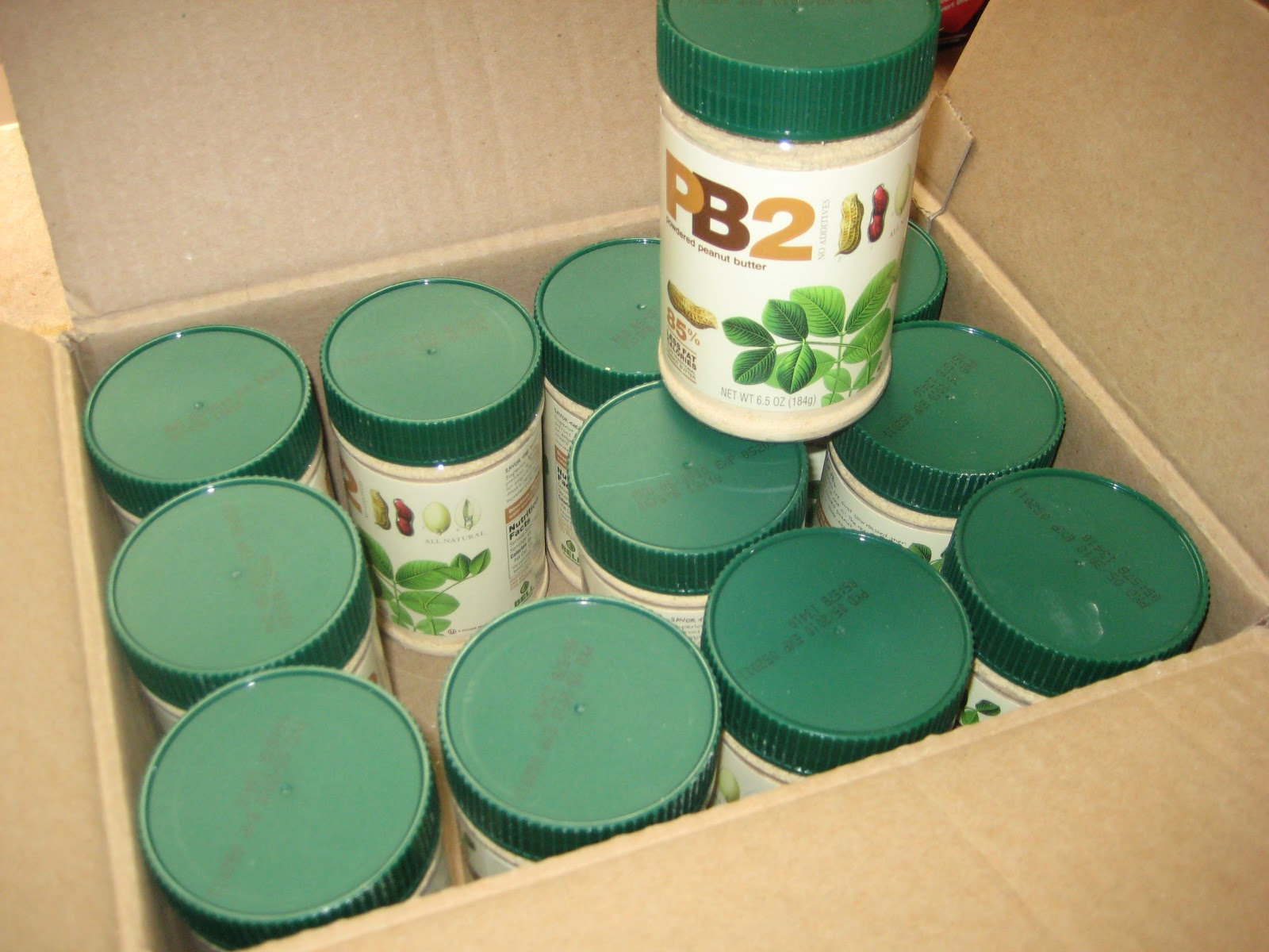 Powdered peanut butter (PB2) shipment