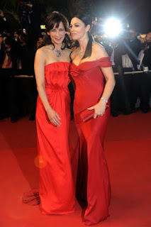 Monica Bellucci And Sophie Marceau Together On Red Carpet 1