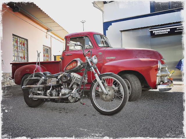 Harley Davidson Shovelhead By Marco Maggiore Hell Kustom