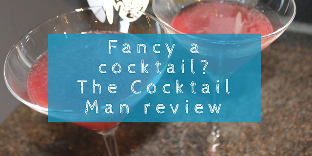 Fancy a cocktail? The Cocktail Man subscription box: A review & WIN