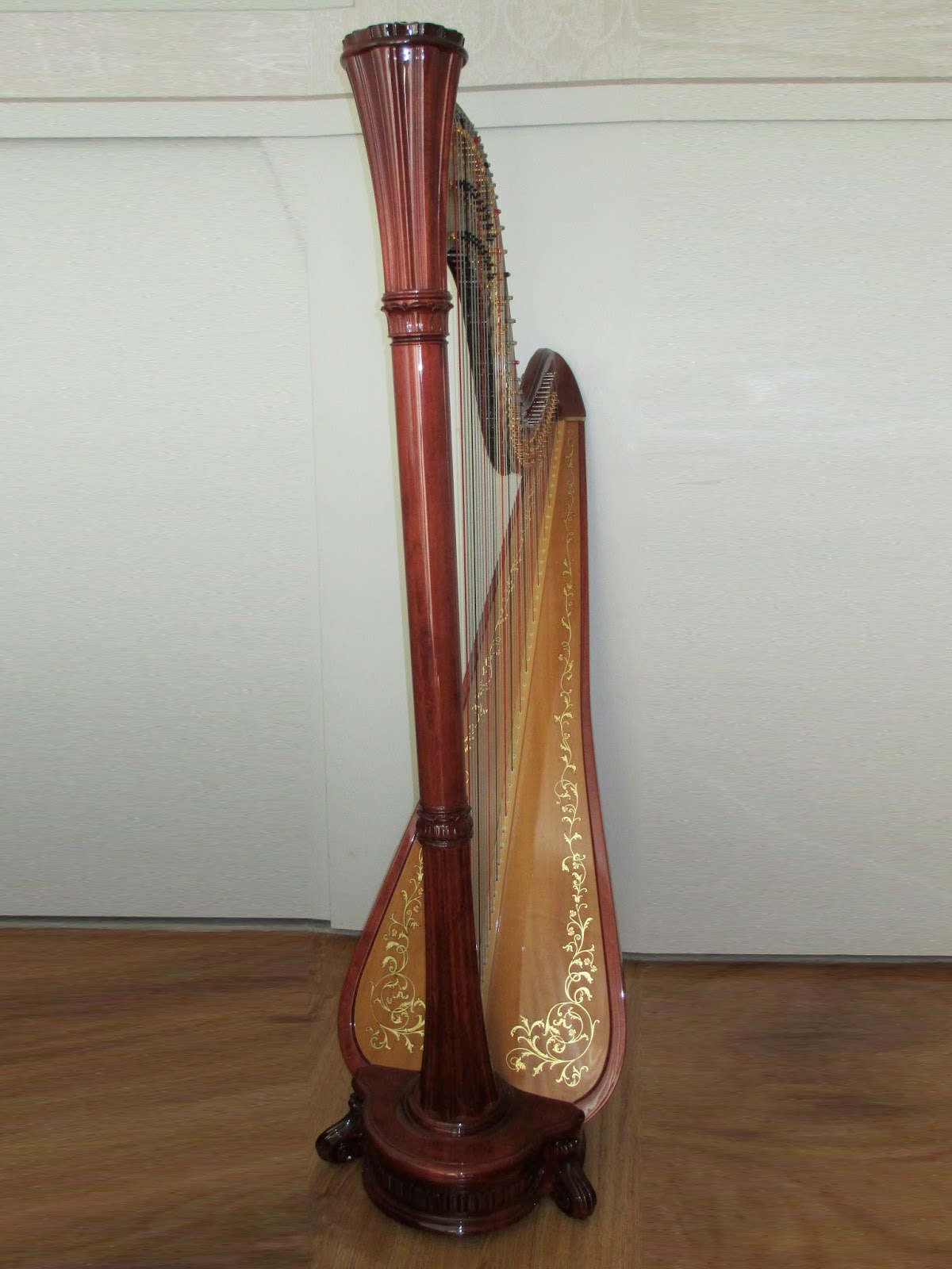 Harp In La Harp Info 2 Salvi Diana Concert Grand Pedal