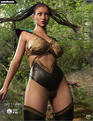 Kerry Outfit for Genesis 3 Female(s)