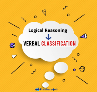 verbal classification, Logical Reasoning