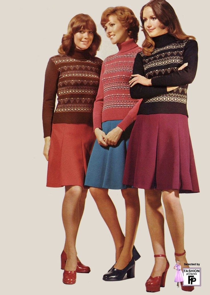 50 awesome and colorful photoshoots of the 1970s fashion for British style abbigliamento