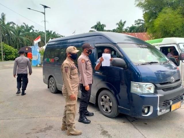 Jika Tidak Ada Surat Vaksin, Kendaraan yang Masuk ke Aceh Diminta Putar Balik